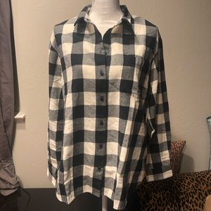 Madewell Flannel Shirt-Jacket in Buffalo Check